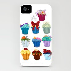 The Princess Cupcake Collection  Slim Case iPhone (4, 4s)