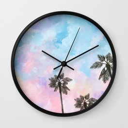 Malibú  Wall Clock