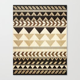 Woodwork Pattern Canvas Print