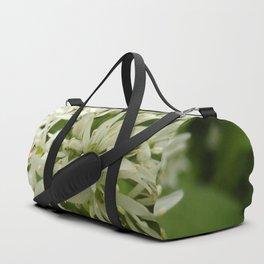 circle of white Duffle Bag