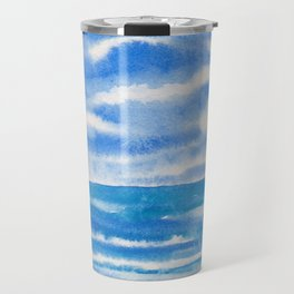 Bluegreen Seascape Travel Mug