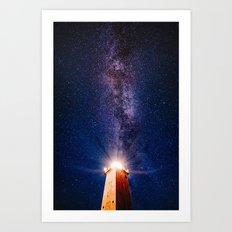 sea of stars #society6 #decor #buyart Art Print