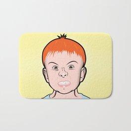 Snarling Kid Bath Mat