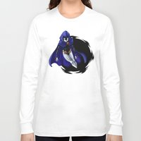 teen titans Long Sleeve T-shirts featuring Teen Titans: Raven by JaDis