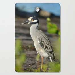 Yellow Crown Night Heron Cutting Board