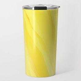 #030 - Monochrome Ink in Yellow Travel Mug