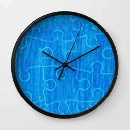 Life is a puzzle 7 Wall Clock