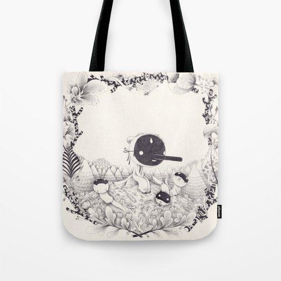 l'enfant loutre Tote Bag