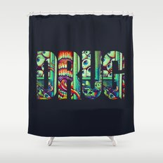 DRUG Shower Curtain