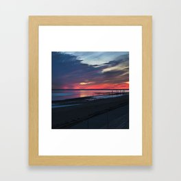 Magic West Coast of Denmark Framed Art Print