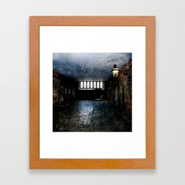 In the Room of Shadow and Light Framed Art Print