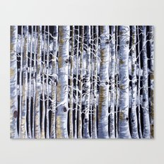 Birch Slap Canvas Print