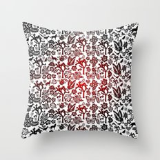 Joshua Tree Heart RED by CREYES Throw Pillow