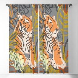 Tiger Totem Blackout Curtain