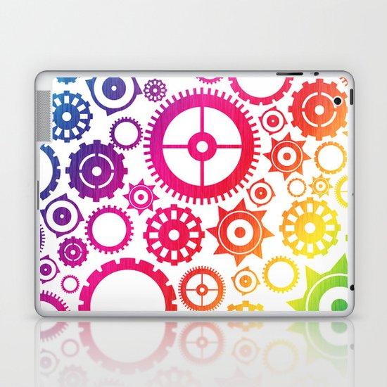 Color Cogs. Laptop & iPad Skin