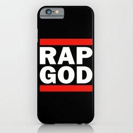 RAP GOD iPhone Case