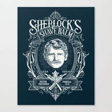 Sherlock's Shave Balm Canvas Print