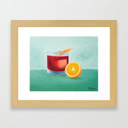 Negroni Framed Art Print