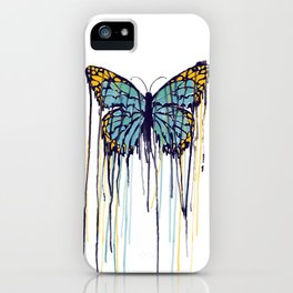 Melting Monarch (collab with Matheus Lopes) iPhone Case
