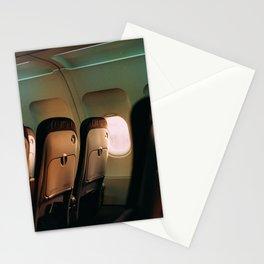 Empty plane Stationery Cards