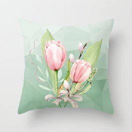 Pantone Spring 2017 Throw Pillow