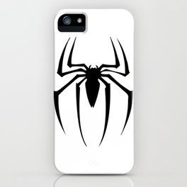 black spidey sense iPhone Case