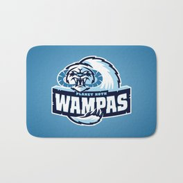Planet Hoth Wampas - Blue Bath Mat