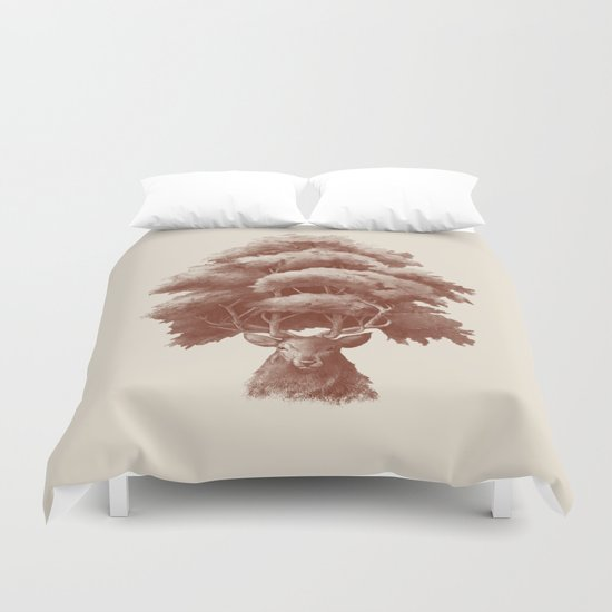 Old Growth  Duvet Cover