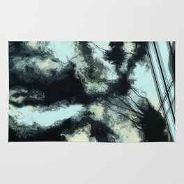 Tethered sky Rug