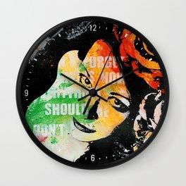 Sick On Sunday II Wall Clock