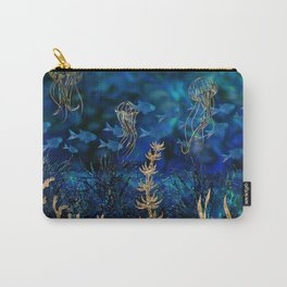 Underwater Treasure landscape Carry-All Pouch