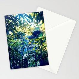 aqua per arbores Stationery Cards