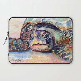 Turtle at Poipu Beach Laptop Sleeve