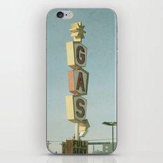 Vintage Gas iPhone & iPod Skin