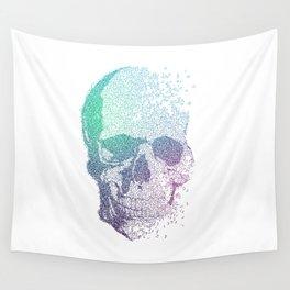 Melodic Skull Wall Tapestry