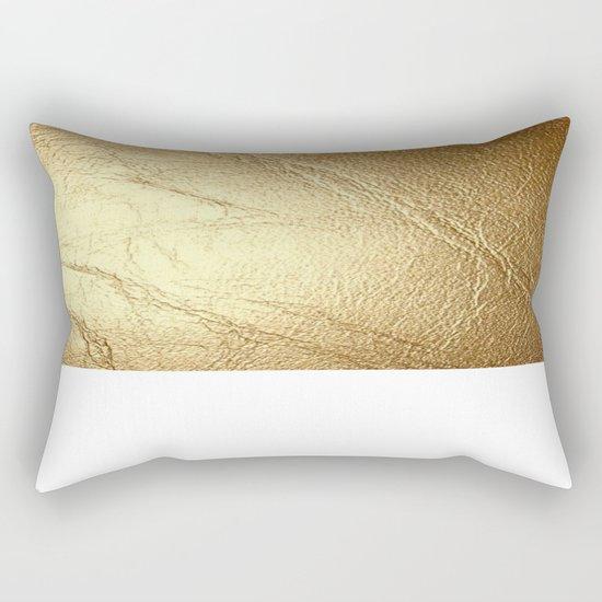 GolD & wHiTe Rectangular Pillow by CVogiatzi. Society6