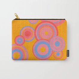 Abstract Spots Carry-All Pouch