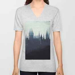 Harry Potter - Hogwarts Unisex V-Neck
