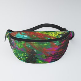 Go Wild - Mountain - Abstract painting Fanny Pack