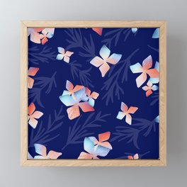 Flowers of the Night Framed Mini Art Print