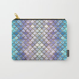 Pretty Mermaid Scales Carry-All Pouch