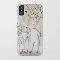 bunnies iPhone & iPod Cases featuring Bunnies by Arianna Usai