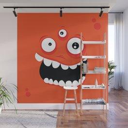 Psychos - Crazy Monsters (Orange) Wall Mural
