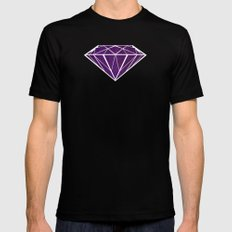 Paint | Diamond Black Mens Fitted Tee MEDIUM