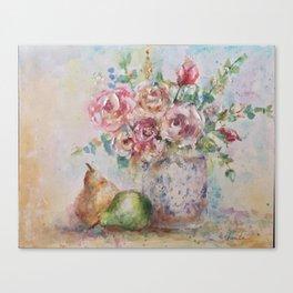 Pear Season Canvas Print