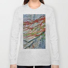 Climbing Plant on a Wall Long Sleeve T-shirt