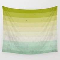 lime Wall Tapestries featuring lime and lemon by xiari