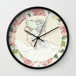 Escaped Bride Wall Clock