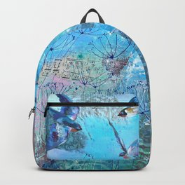This morning guests. Backpack