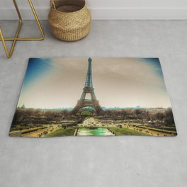 Paris Eiffel Tower Rug